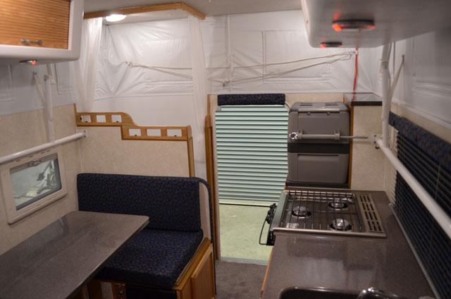 Hallmark Guanella Camper Inside