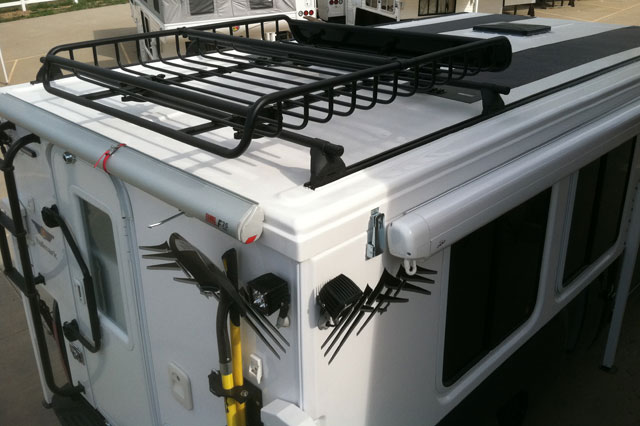 Elegant Curt 18115 Roof Mounted Cargo Rack Camper Trailer RV Image May Differ