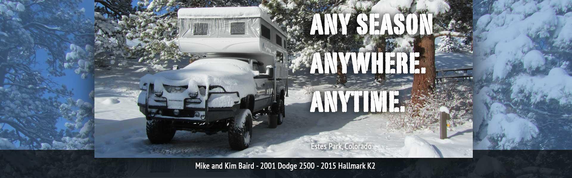 Hallmark RV | The Best Pop-Up Truck Camper